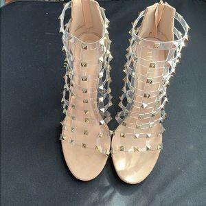 ⭐️ Studded Nude Heels ⭐️